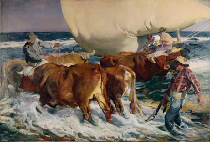 Joaquín Sorolla, 'The Return from Fishing', 1894, Paris, Musée d'Orsay